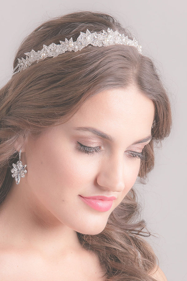 Star Blossom Bridal Headpiece- Sample Sale