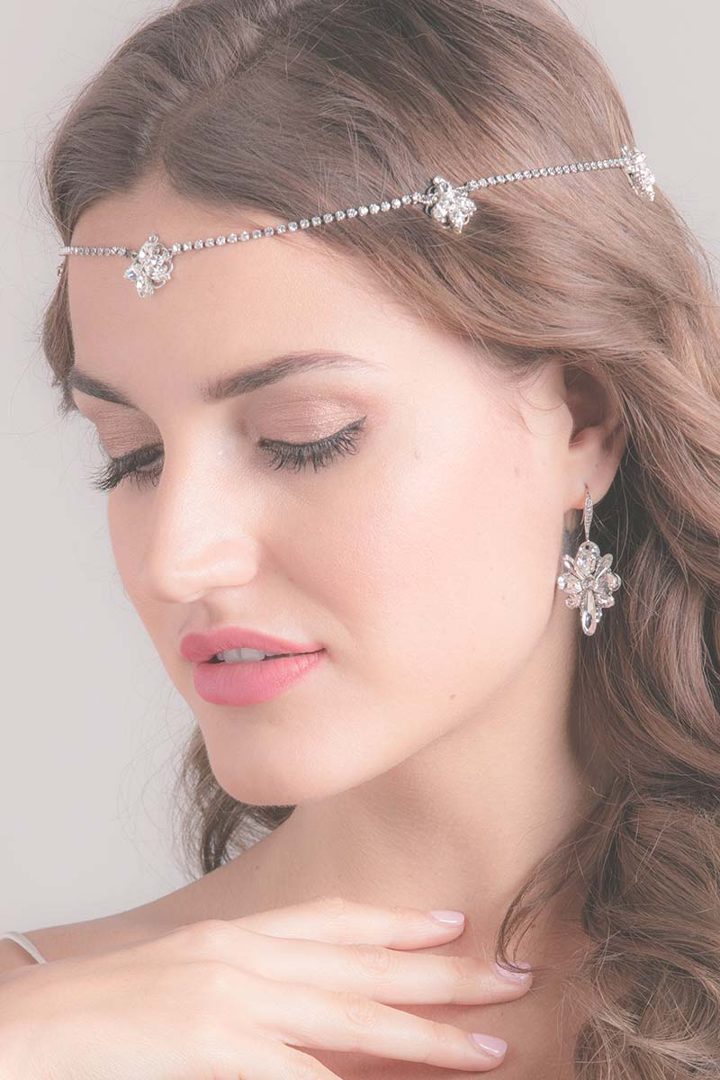 Mae Bridal Halo Bridal Headpiece - Sample Sale