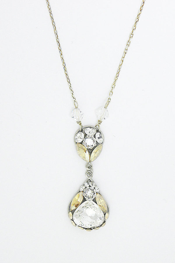 Pear Drop Bridal Pendant