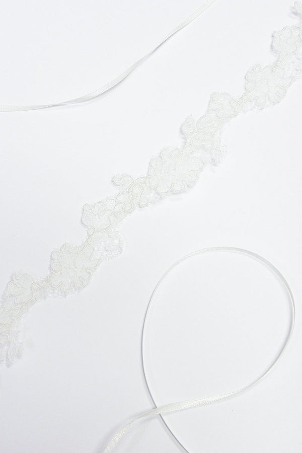 Petit Point Wedding Choker- Sample Sale