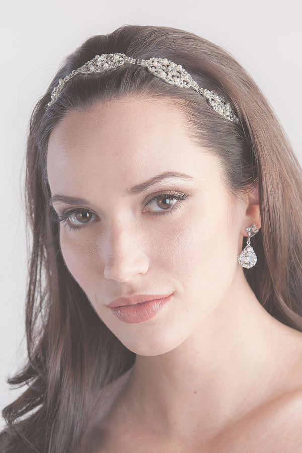 Dauphine Filigree Bridal Headpiece- Sample Sale