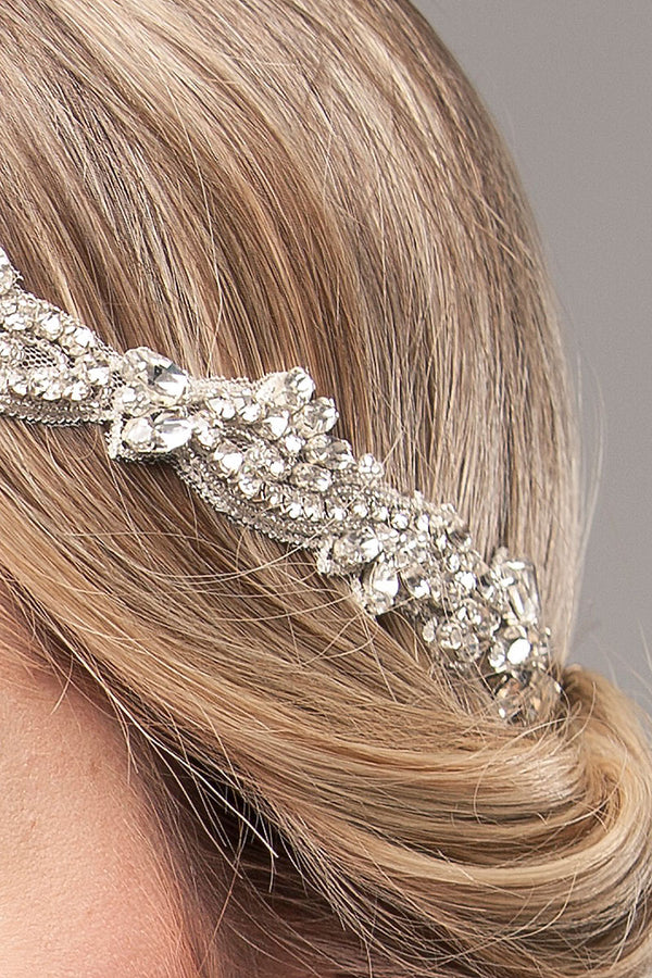 Demi Jeweled Bridal Headpiece- Sample Sale