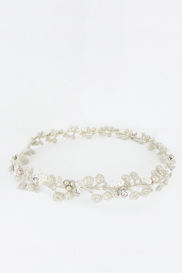 Whitney Halo Wedding Headpiece