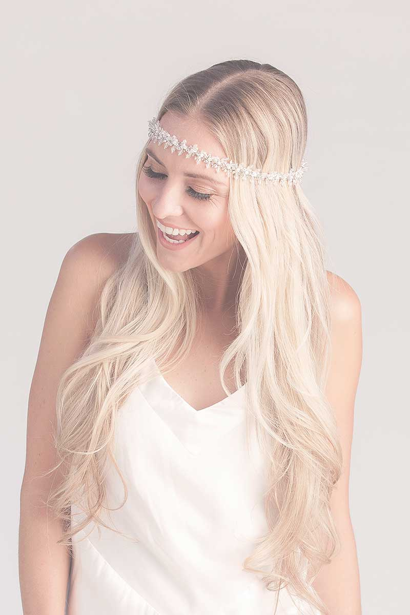 Ali Fringe Bridal Headband - Belt - Sample Sale