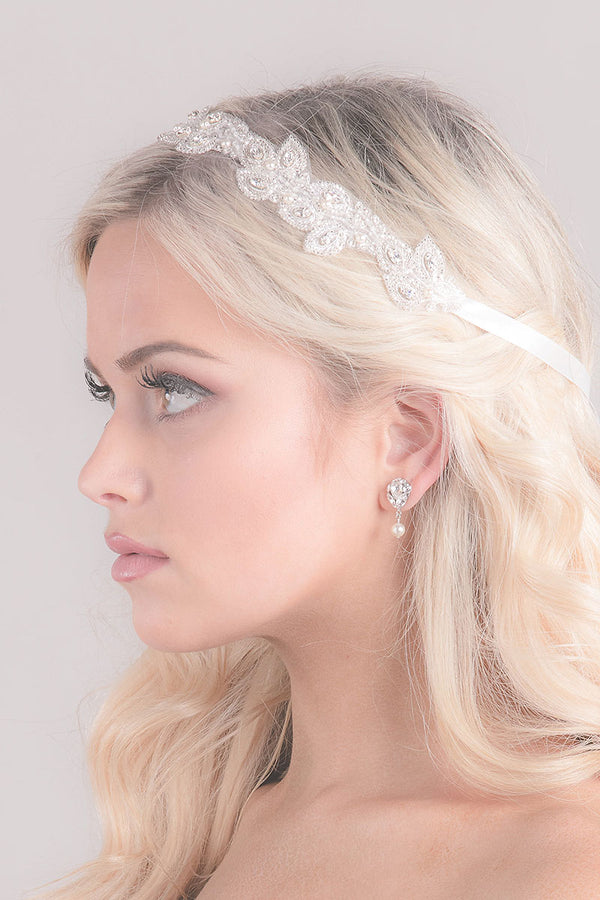 Sonnet Bridal Headband- Sample Sale