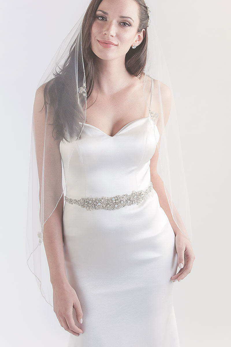Lavinia Fingertip Veil- Sample Sale