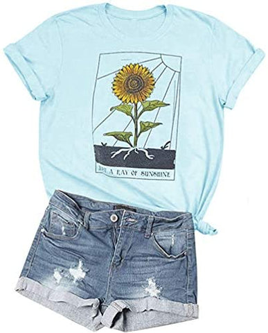 Sunflower Just Ray of The Sunshine T-Shirt