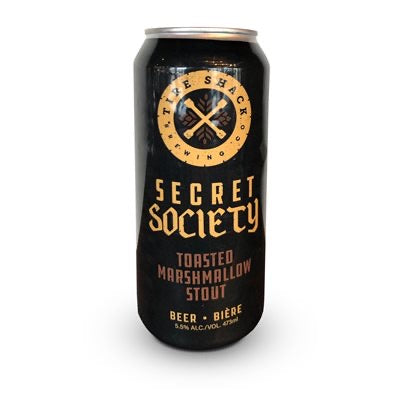 SECRET SOCIETY TOASTED MARSHMALLOW STOUT - 473ML