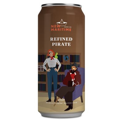 REFINED PIRATE STOUT - 473ML