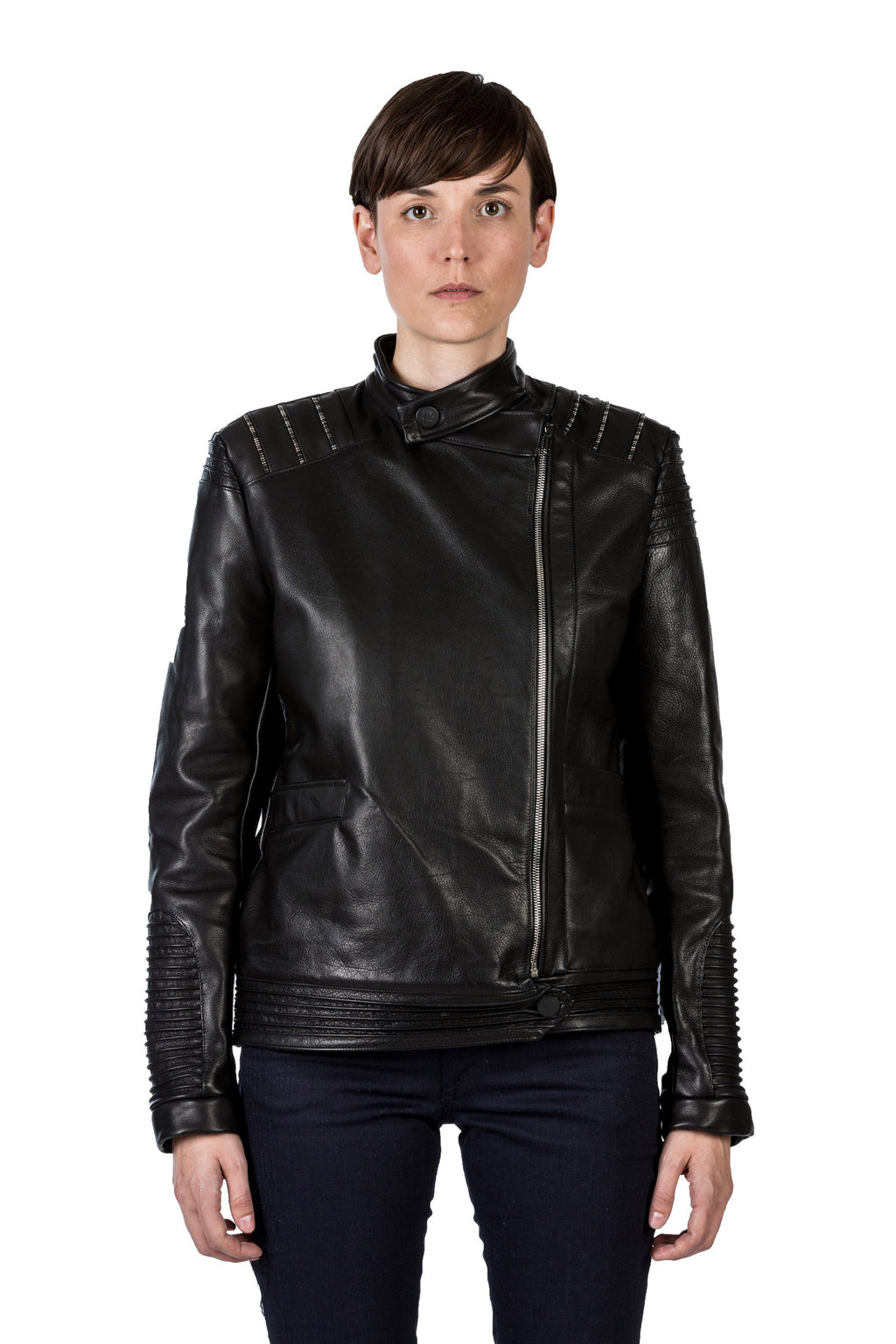 Ash Biker Leather Jacket