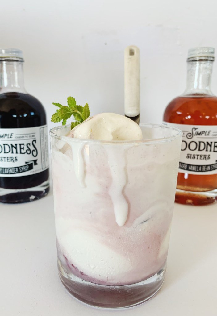 Sunset Magazine Wants You to Put Simple Goodness Sisters' Marionberry Mint Syrup on Ice Cream