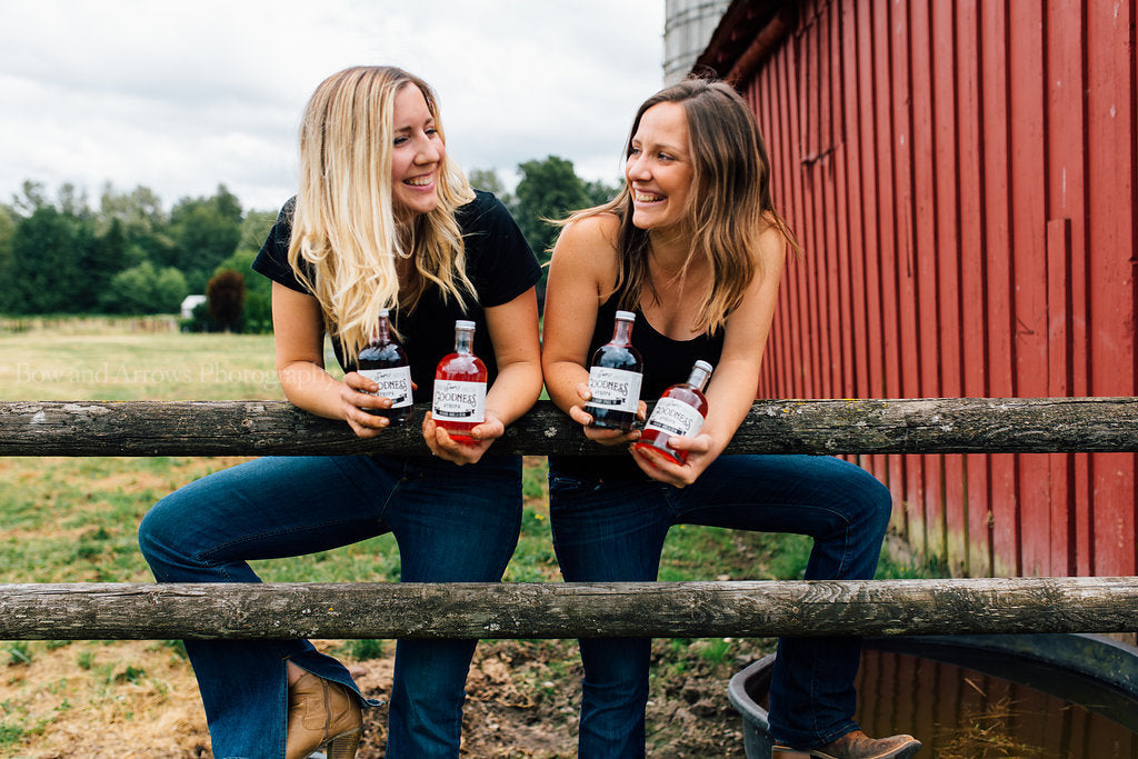 Simple Goodness Sisters Presents Simple Goodness Syrups!