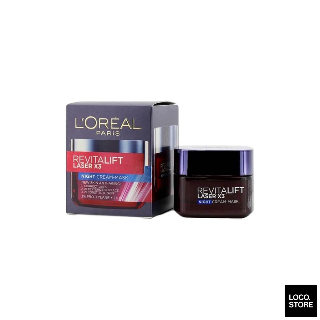 LOreal Dermo Expertise Revitalift Laser X3 Night Cream Mask 50ml