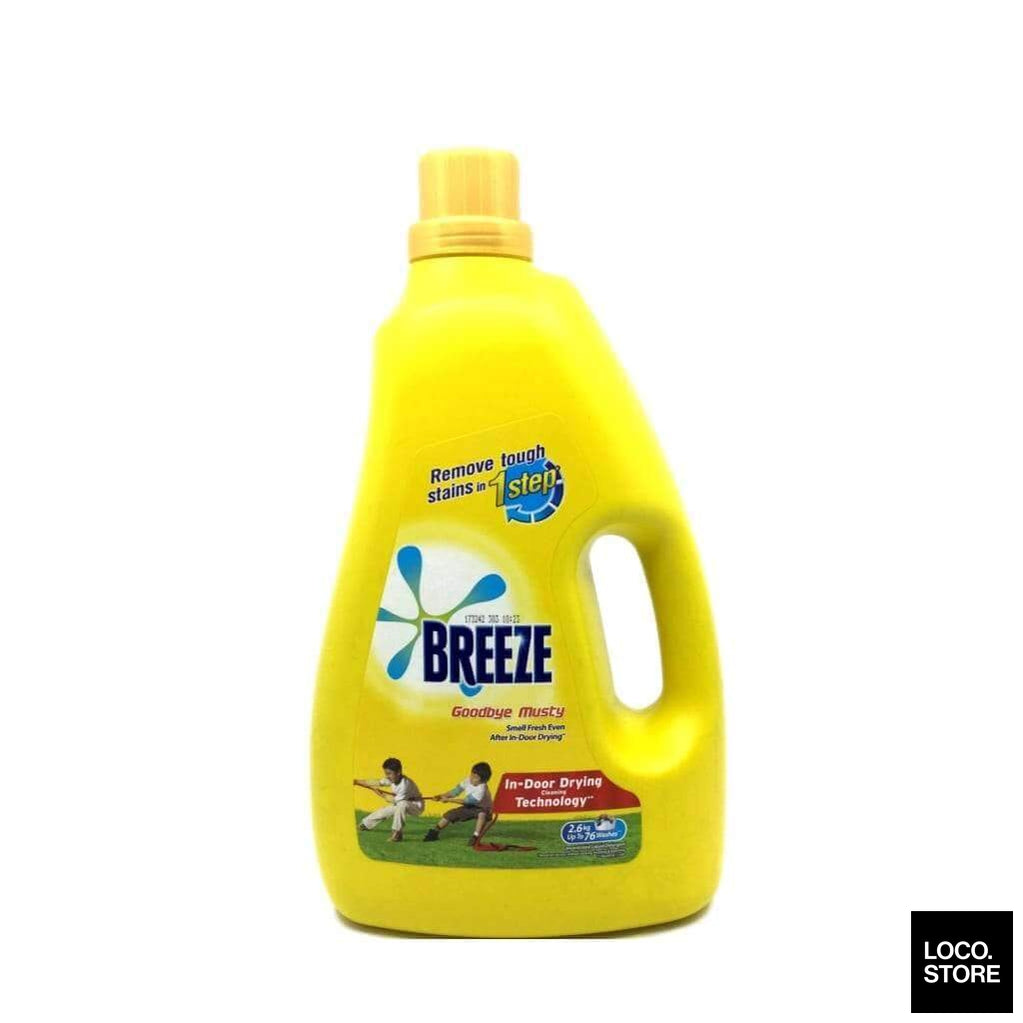 Breeze Liquid Goodbye Musty 2.6kg