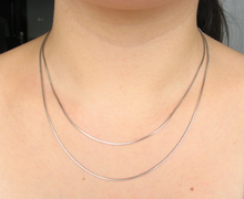 Load image into Gallery viewer, Silver Necklace