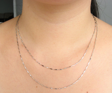 Load image into Gallery viewer, Necklace Semi Silver A