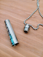 Load image into Gallery viewer, Funeral Cylinder Pendant