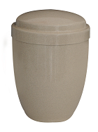 Urn Metal Steel BEIGE