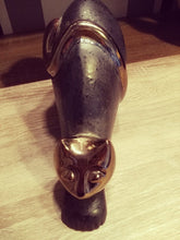 Lade das Bild in den Galerie-Viewer, Gold Head Cat Urn