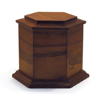 Wooden Funeral Urn VELOMA