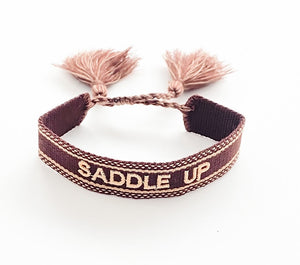 Saddle Up Woven Bracelet