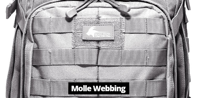 Tactical Backpack Molle Webbing