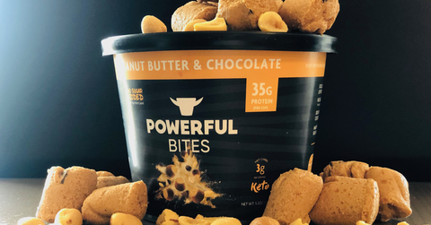 peanut butter protein bites for a healthy snack on the go