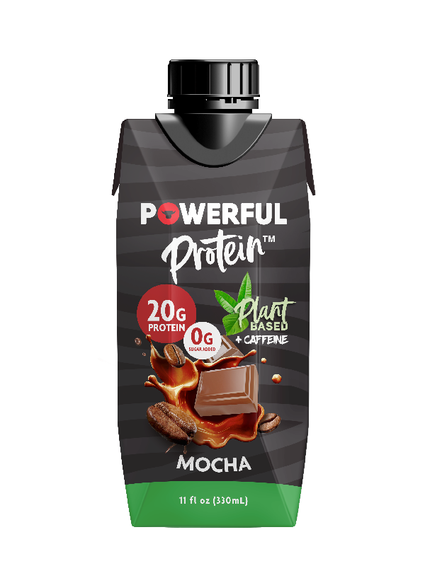 Powerful Plant-based protein drinks