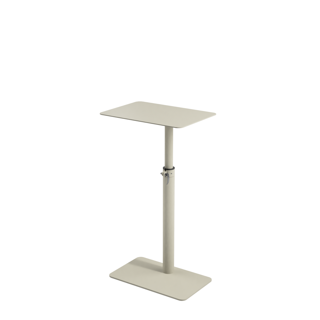 Height adjustable desk Sopiva is good choice for homes and small offices by selkastore