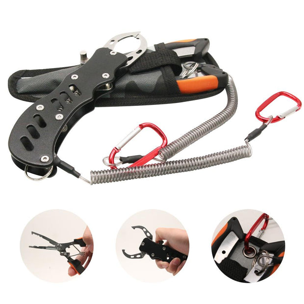 Multifunctional Fishing Pliers Spring Stainless Steel Accessories