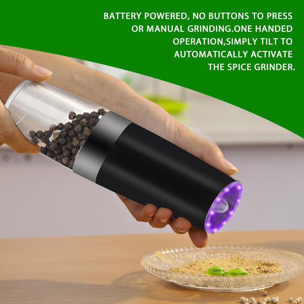 Electric Automatic Pepper Grinder Sensor