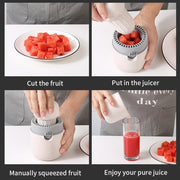 Portable Hand Squeeze Fruit Juicer
