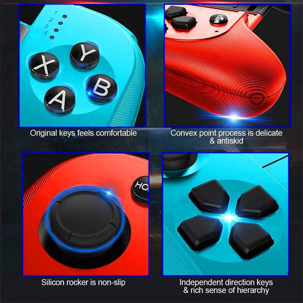 Wireless Bluetooth Smartphone Gaming Joystick Controller Apple Android Compatible