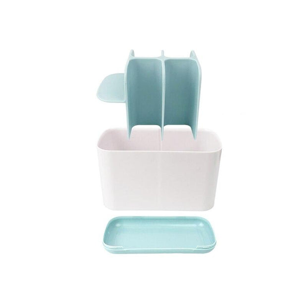 4 Color Toothbrush Holder Automatic Toothbrush Toothpaste Dispenser