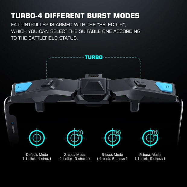 Falcon PUBG Mobile Controller Gamepad for iOS / Android Joystick