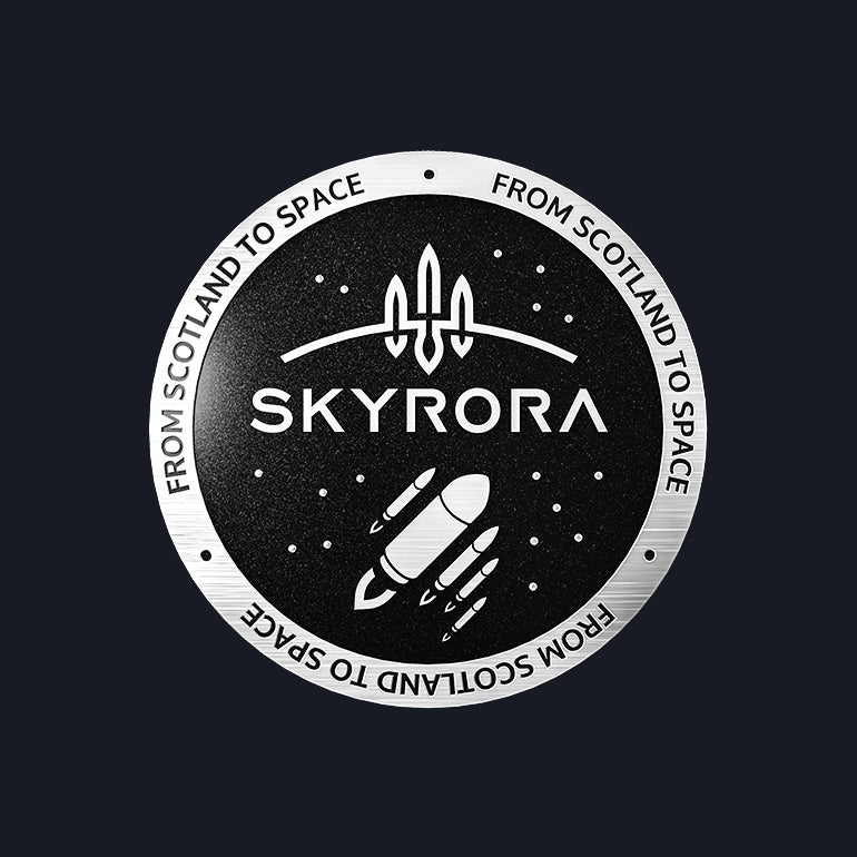 Skyrora Pin Badge: 'From Scotland to Space'