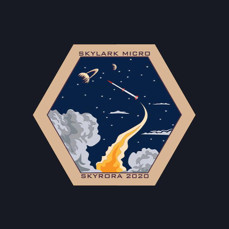 Skylark Micro Mission II Patch