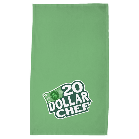20 Dollar Chef Kitchen Towel, Green