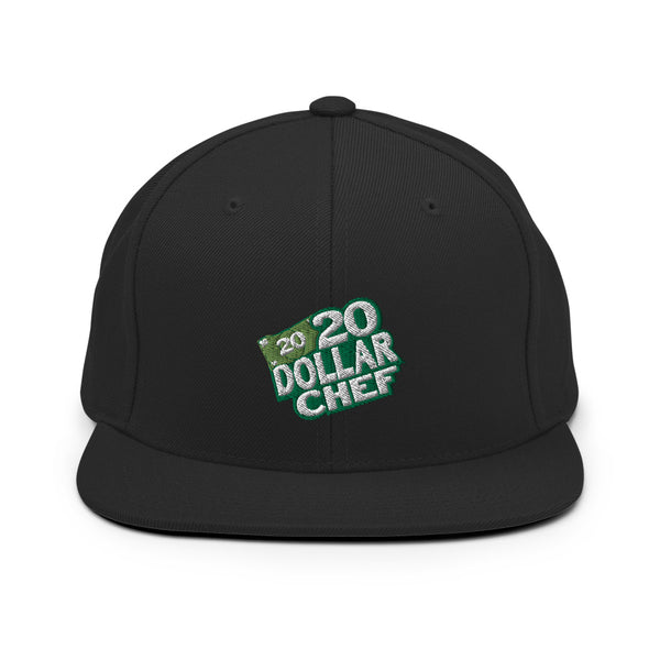 20 Dollar Chef Snapback Hat