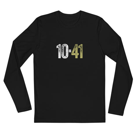 10-41 Long Sleeve Fitted Crew