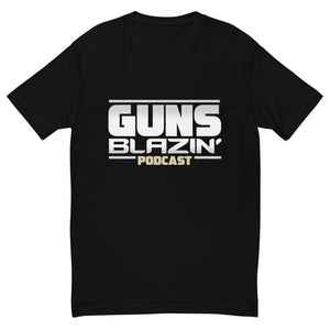 Guns Blazin' Stacked Logo Tee