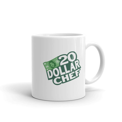 20 Dollar Chef Coffee Mug