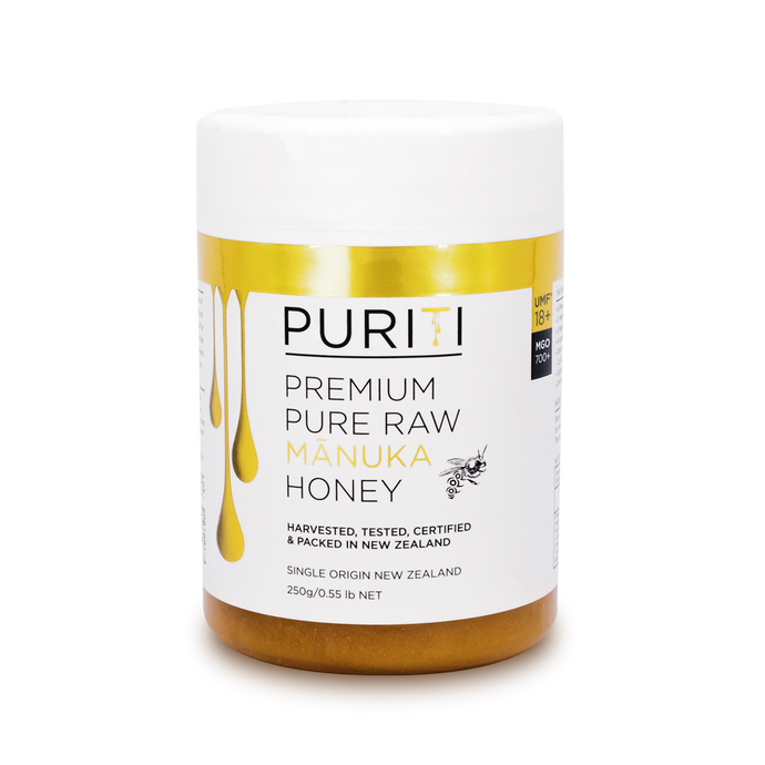 Puriti UMF 18+ Manuka Honey 250g
