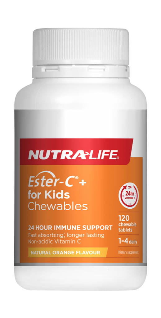 Nutralife Ester C for Kids Chews (120s)