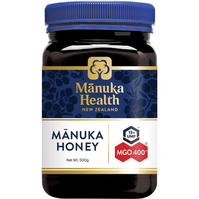 Manuka Health MGO 400+ Manuka Honey (500g)