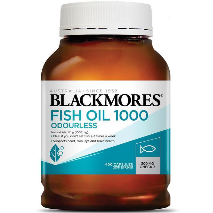 Blackmores Odourless Fish Oil 1000mg (400s)