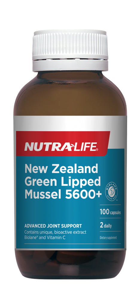 Nutralife Green Lipped Mussel 5600 (100s)
