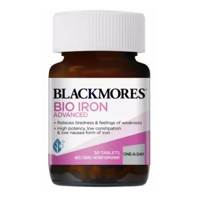 Blackmores Bio Iron Advanced (30t)