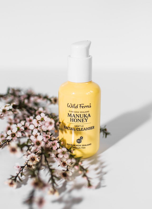 Wild Ferns Mnauka Honey Facial Cleanser (140ml)