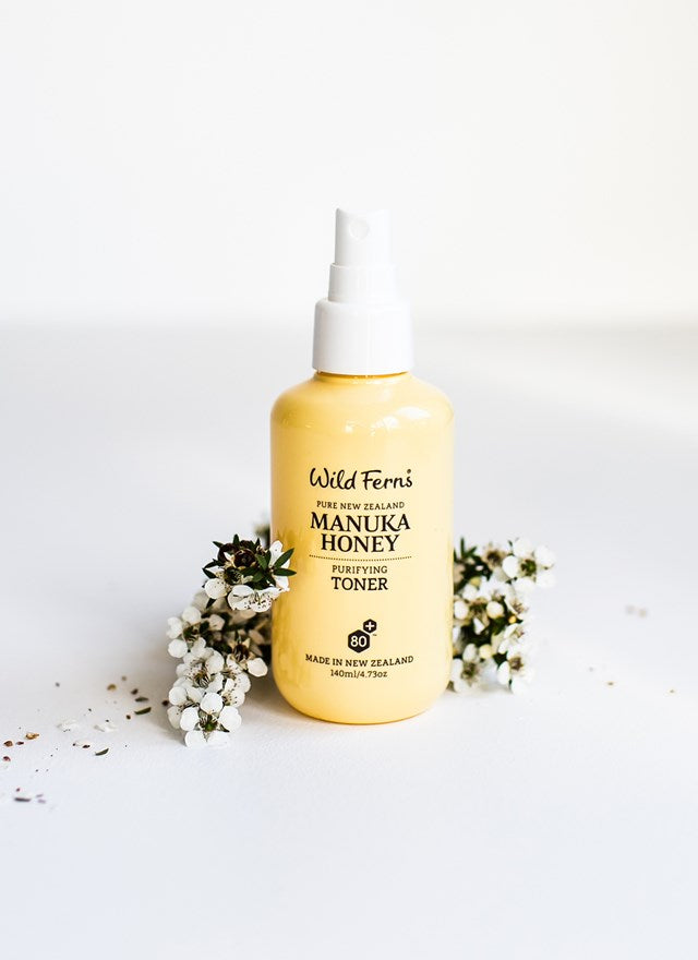 Wild Ferns Manuka Honey Purifying Toner (140ml)